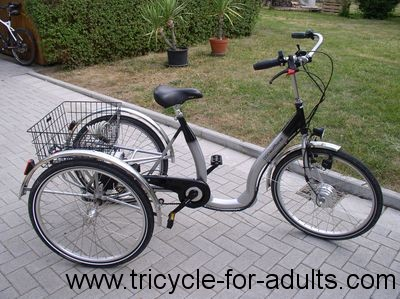 "Adult tricycle from Wulfhorst Model ""Sevelo"" Frame size: 26 """