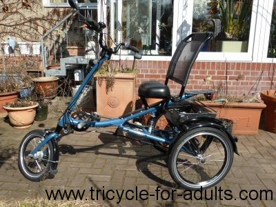 "Peacock Tec ScooterTrike size ""S"" 7-speed reverse"